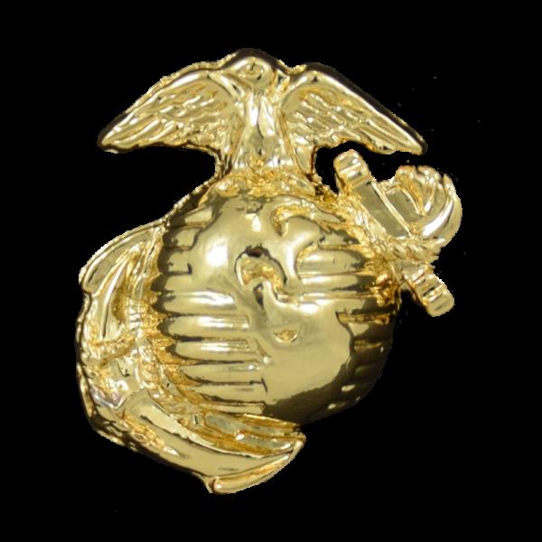 Simulated Gold EGA Lapel Pin-0