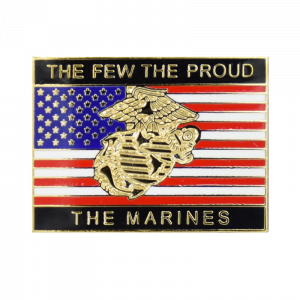 """The Few, The Proud, The Marines"" Lapel Pin-0"