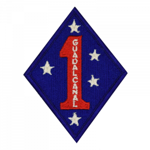 1ST DIV Embroidered Patch-0