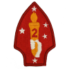 2ND MAR DIV Embroidered Patch-0