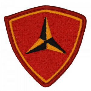 3RD MAR DIV Embroidered Patch-0