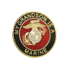 """""""My Grandson is a Marine"""" Pin-0"""