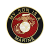 """""""My Son is a Marine"""" Lapel Pin-0"""