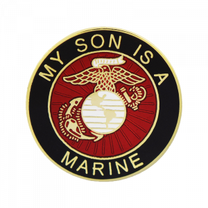 """My Son is a Marine"" Lapel Pin-0"
