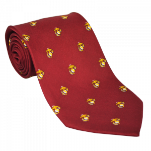 EGA Pattern Silk Tie-0