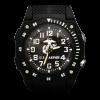 Black USMC Watch with Flashlight-0