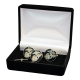 Black USMC Cufflinks & Tie Tack Set-0