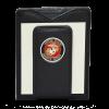 Leather Wallet with USMC Emblem Money Clip-149339