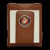 Leather Wallet with USMC Emblem Money Clip-149340