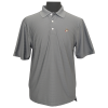 Coolmax Textured Stripe Charcoal Gray Polo-0