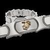Men's Stainless Steel Bracelet with 14KT Gold EGA-0