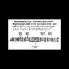 Men's Stainless Steel Bracelet with 14KT Gold EGA-151904