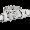 Men's Stainless Steel Bracelet with Embossed EGA-0