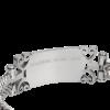Ladies Stainless Steel Bracelet with 14KT EGA-151852