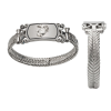 Ladies Stainless Steel Bracelet with Sterling EGA-0