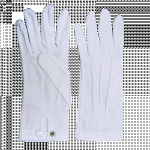 Snap Wrist Officer Gloves - MALE-0