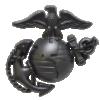 Officer Cap Ornament for Service Frame-0