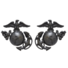 Officer Service Uniform Collar Ornament-0