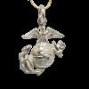 Sterling Silver EGA Charm-0