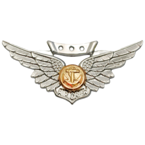 Marine Combat Aircrew Badge - Regulation, Anodized-0
