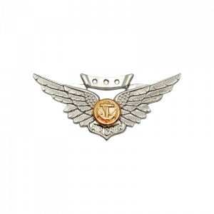 Marine Combat Aircrew Wings - Miniature, Anodized-0