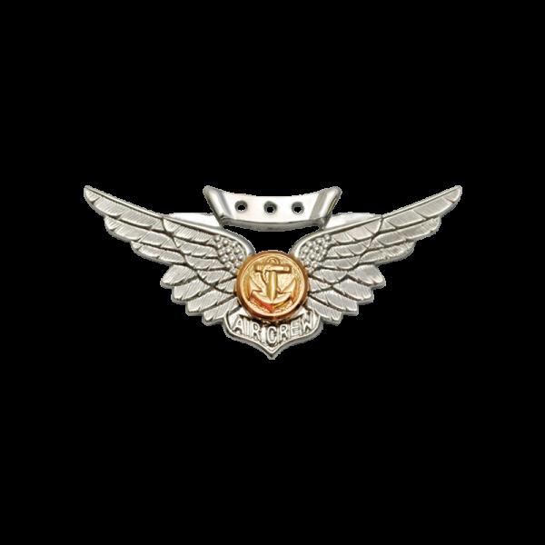Marine Combat Aircrew Wings - Miniature, Anodized-0