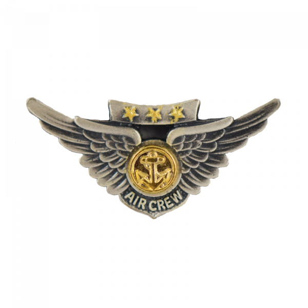 Marine Combat Aircrew Wings - Miniature, Subdued-0
