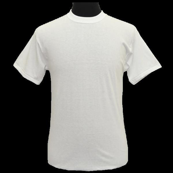 Plain White T-Shirt-0