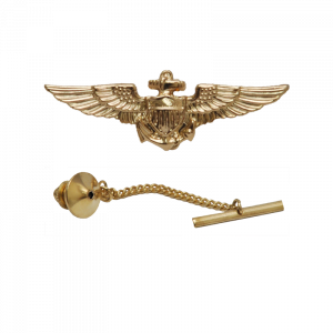 Aviator Wings Tie Tack/ Lapel Pin-0