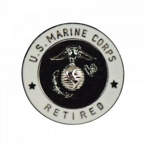 30 Years of Service USMC Retired Lapel Pin-0