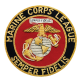 Marine Corps League Blazer Patch-0