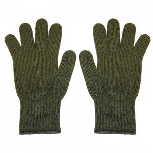 Green Poly Glove Liners - SM/MED-0