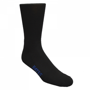 Bates® Black Performance Uniform Dress Socks-0