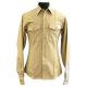 Long Sleeve Khaki Shirt Included (French Cuffs Available for Additional Charge)