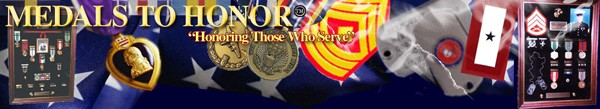 Medals to Honor banner