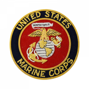 USMC Emblem Blazer Patch-0