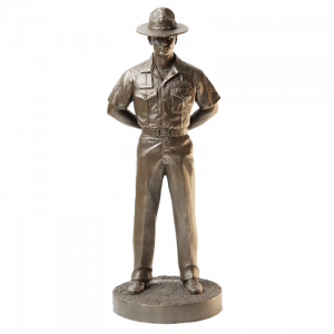 Marine Drill Instructor Statue-0