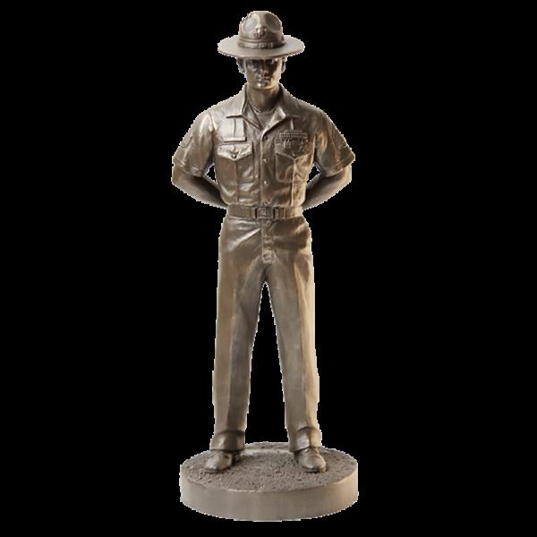Marine Drill Instructor Statue-0