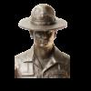 Marine Drill Instructor Statue-152085