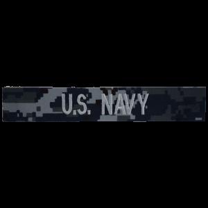 Digital Camouflage U.S. Navy Name Tape-0