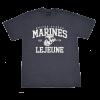 """""""Lejeune"""" Heathered Navy T-shirt-153661"""
