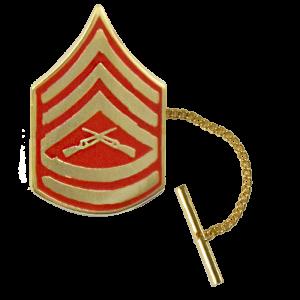 Gunnery Sergeant Tie Tack-0