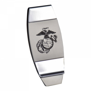 Two-Toned EGA Money Clip-0