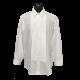 Laydown Collar White Tuxedo Shirt - 14.531-0
