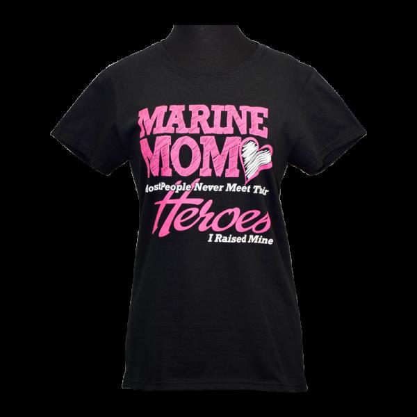 "Marine Mom ""Heroes"" T-shirt-0"