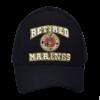 Retired USMC Black Hat-0