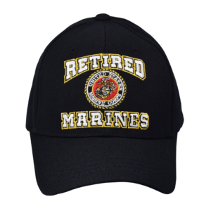 Retired USMC Black Hat-0