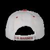 White Hat with USMC Emblem & EGA-158359