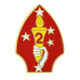 2nd Marine Division Lapel Pin-0