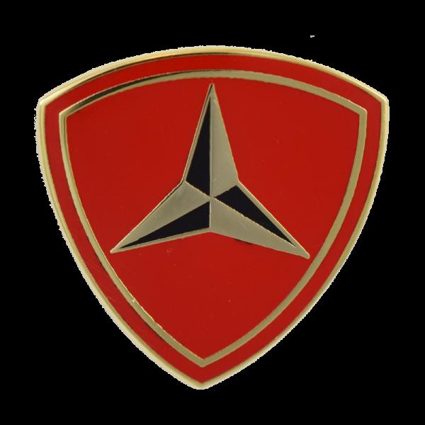 3rd Marine Division Lapel Pin-0